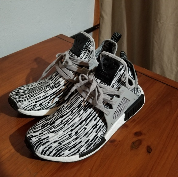 f78e65d77 adidas Other - Adidas NMD XR1 sz 12 black white slightly worn